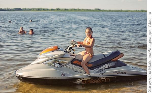 Водный мотоцикл это наша страсть!