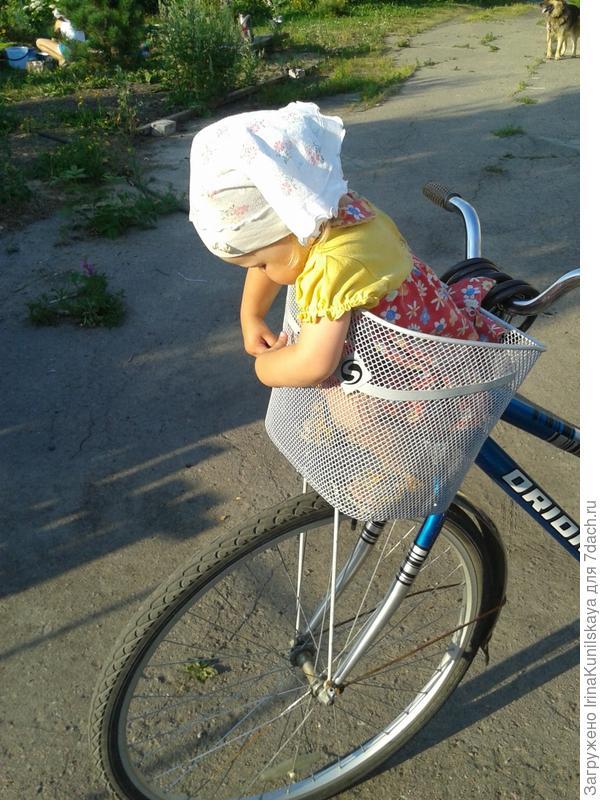 мой способ езды на велосипеде