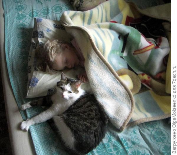 Поля и Тима спят