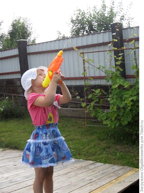 игры с водяным пистолетом