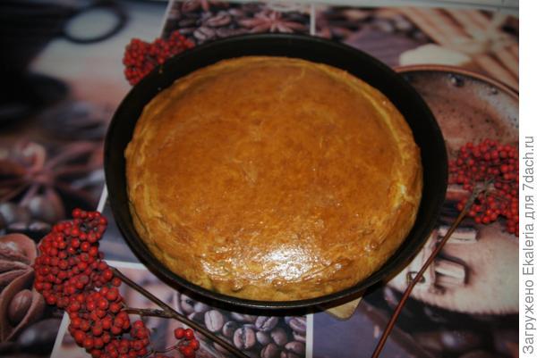 пирог румяный