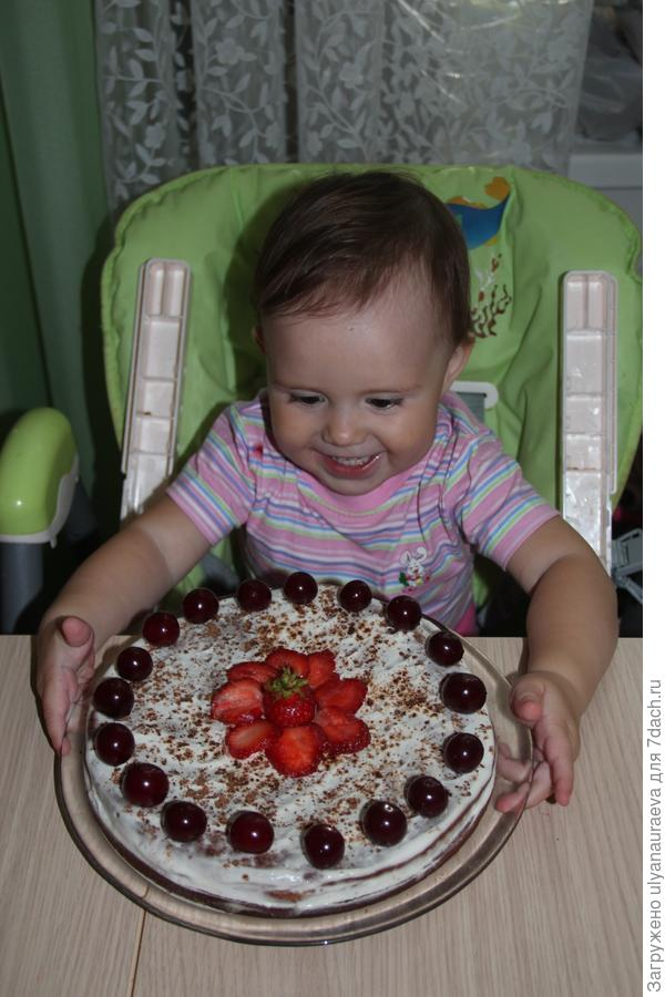 наш летний тортик