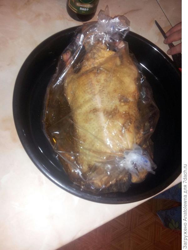 утка готова в духовку