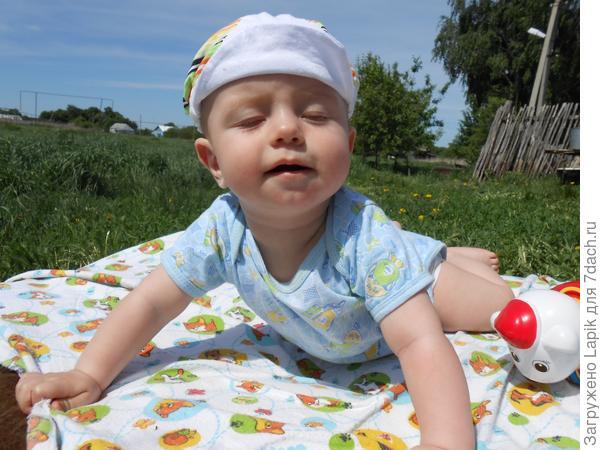я на солнышке лежу... я на солнышко гляжу...