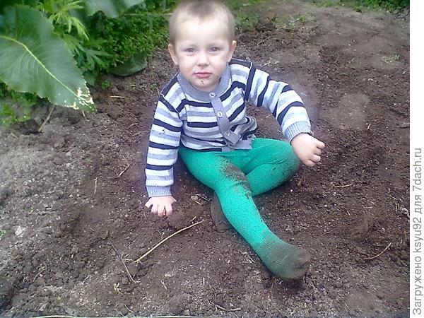 копаем землю