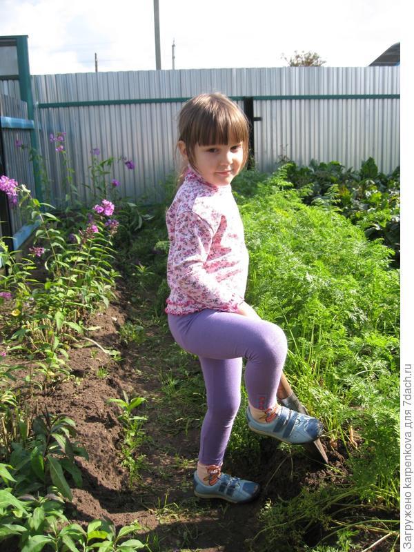 """Катюша """"большая"""" маленькая помощница (4 года)"""