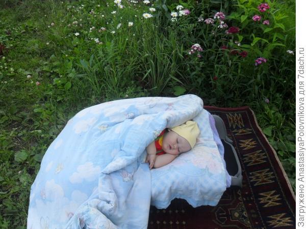 Сладко, сладко спит наш гномик