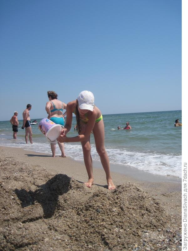 Строим крепость из песка