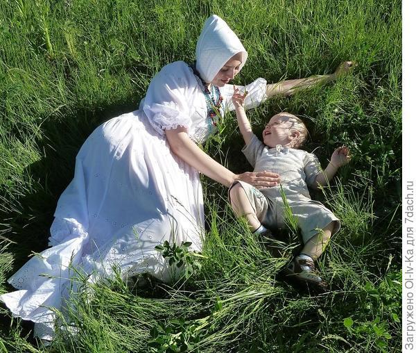 Какая мягкая трава!