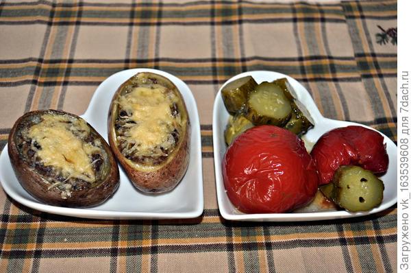 картофель жюльен