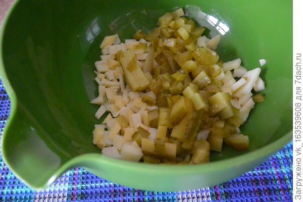 Мы готовим на обед с мамой вкусный винегрет - пошаговый рецепт приготовления с фото