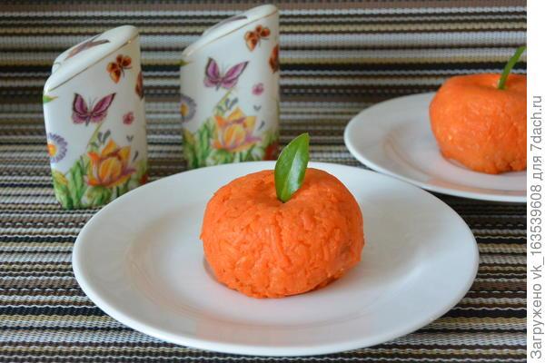 Скоро Новый Год, салат; Мандаринки; пошаговый рецепт приготовления с фото
