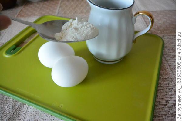 Секретный ингредиент для приготовления пышного омлета - пошаговый рецепт приготовления с фото