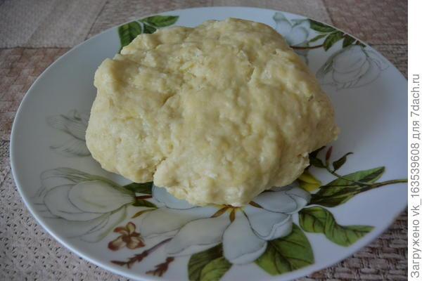 Творожная коса с изюмом, курагой и черносливом - пошаговый рецепт приготовления с фото