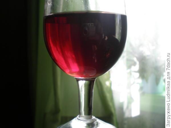 А это малиновое вино