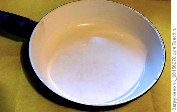 чистая сковорода