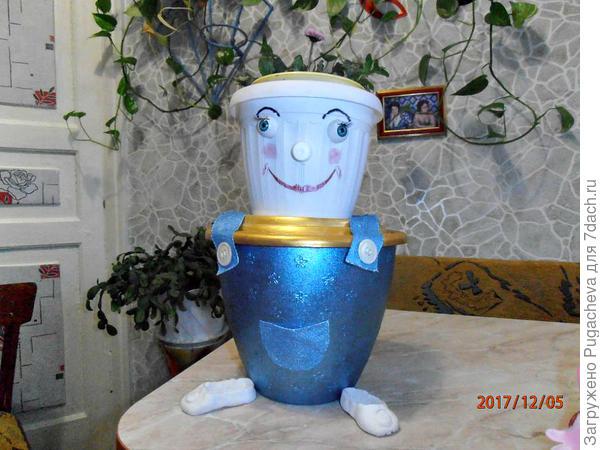 Кашпо Садовник.