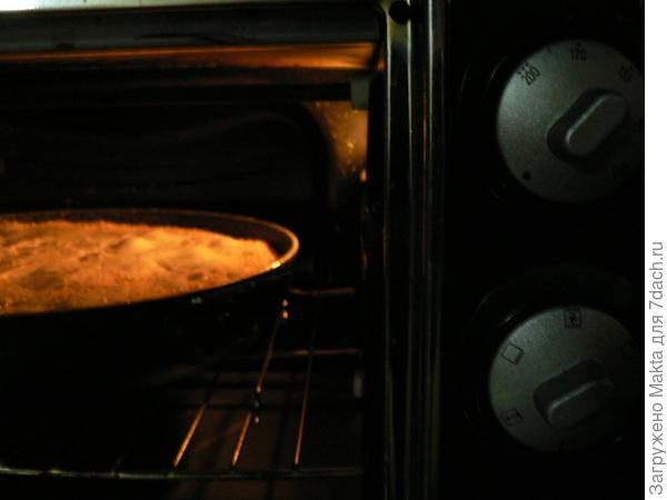 в духовке