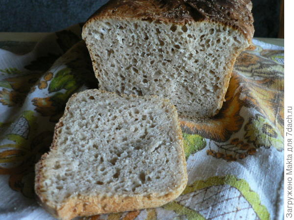 разрез хлеба