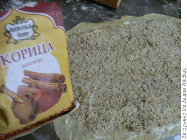 тесто с начинкой