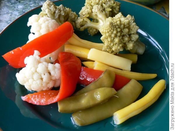 турша из овощей