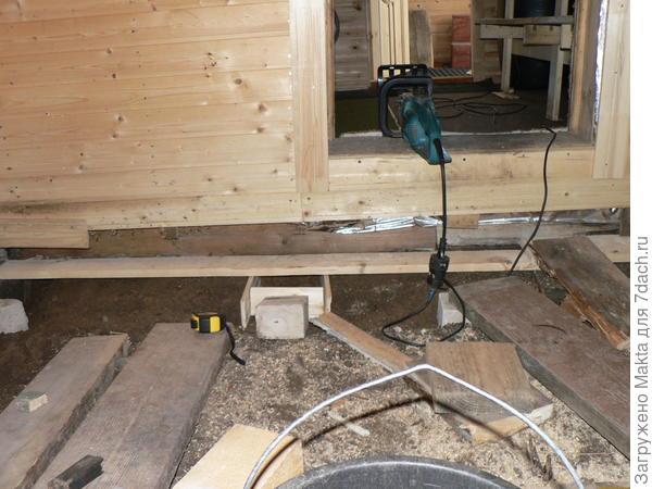 подготовка к заливке бетоном
