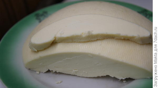 просто домашний сыр