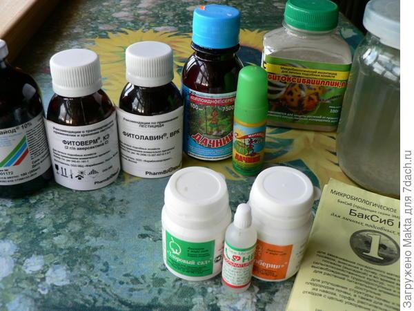 Аптечка для жимолости