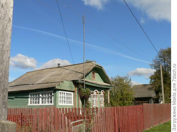 дом папы в нашей деревне