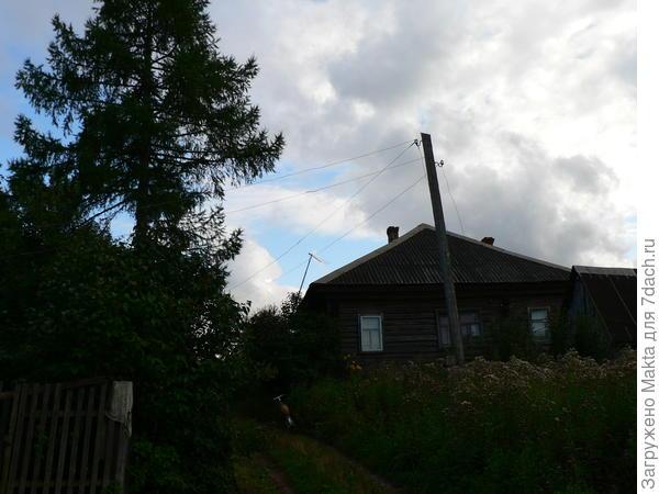 Остались и старые дома