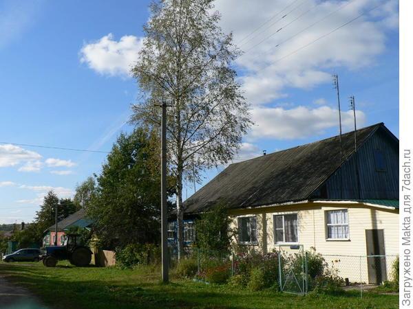 Один из домов