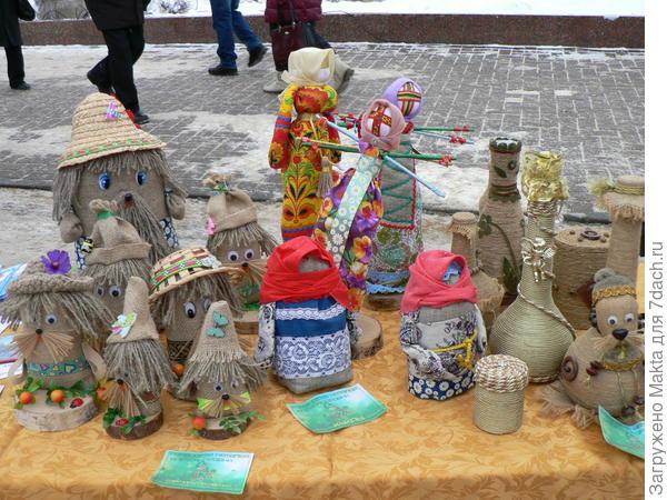 Шитые куклы из Солигалича