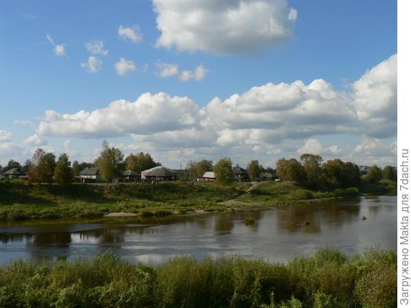 Район на правом берегу реки Костромы