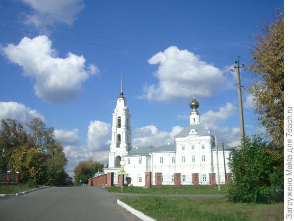 Подъезжаем к Благовещенскому собору
