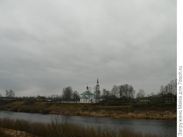 Воскресенская церковь за рекой Кострома