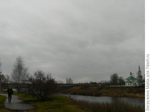 Мост через реку Кострому