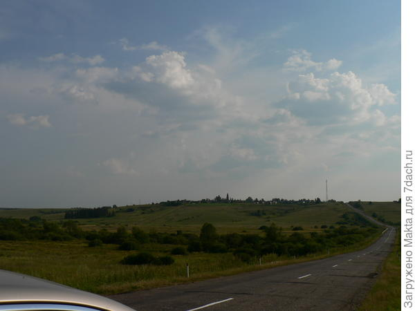 Дорога в Кострому и Сусанино