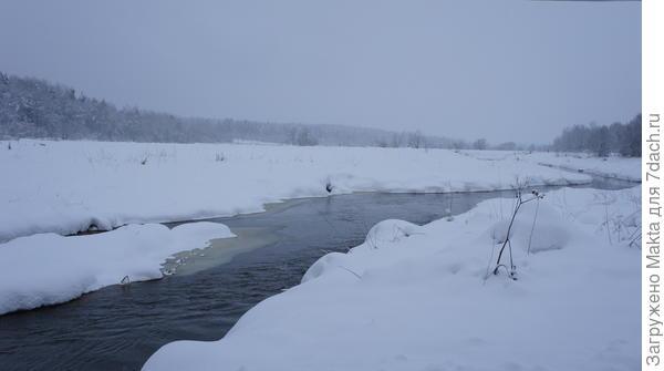 Наша речка течёт навстречу Костромке