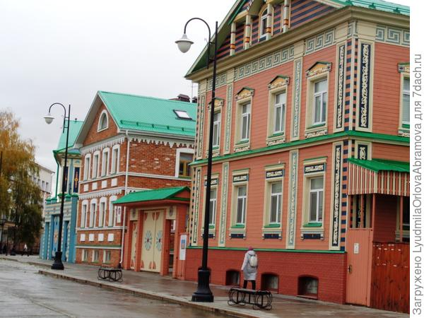 Дома в Старо-Татарской слободе