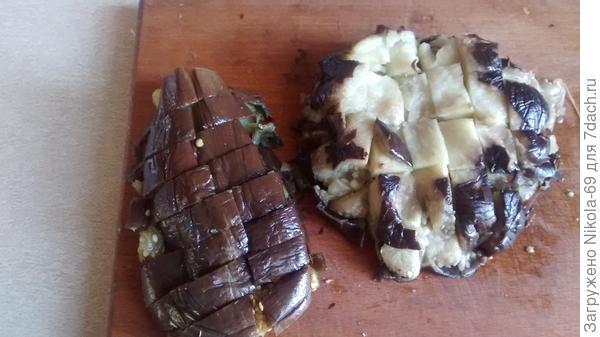Баклажаны с чесночком - пошаговый рецепт приготовления с фото