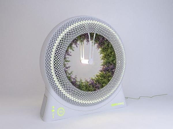 Система зеленых колес от Libero Rutilo. Фото с сайта http://thedesignhome.com/