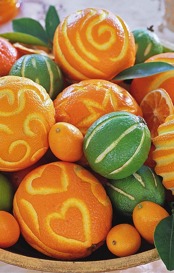 Апельсины, лаймы и кумкваты