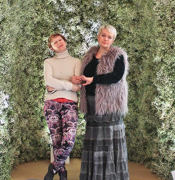 Мария Турская и Татьяна Зворыкина