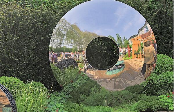 Зеркальный диск