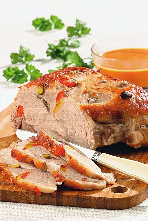 Свинина с перцем