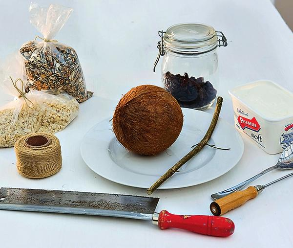 Набор для кокосовой кормушки