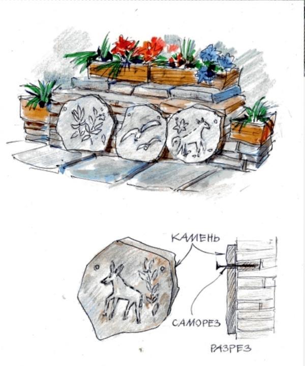 С примитивной резьбой по камню справится обычный шуруповерт