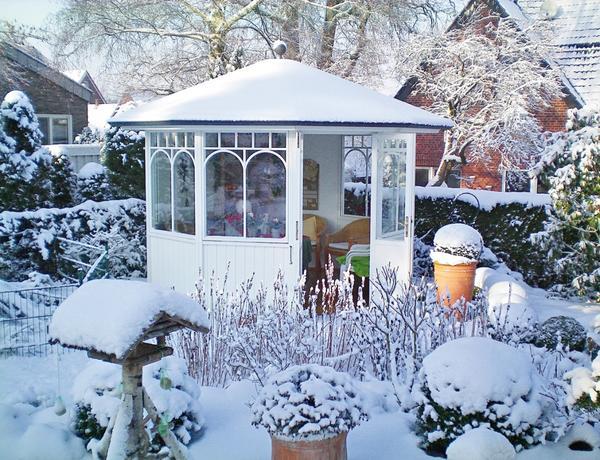 Выберите для постройки самое живописное место в саду!