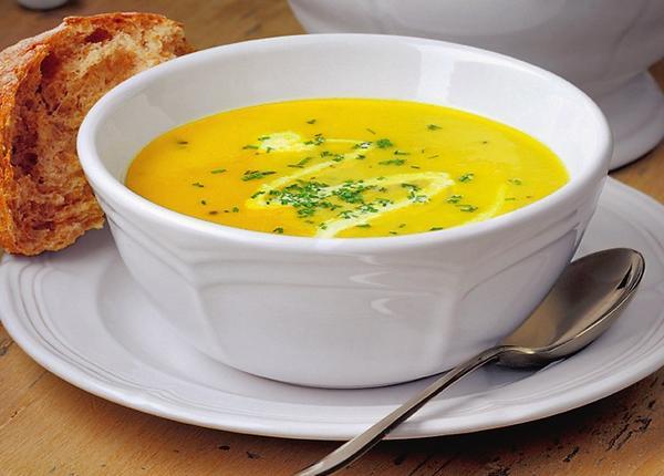 Суп из пастернака с карри