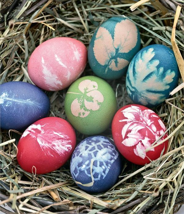 Узоры на пасхальных яйцах имеют свое символическое значение
